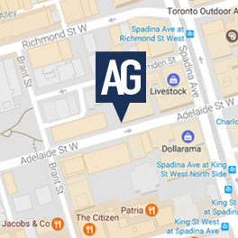 **NEW DOWNTOWN LOCATION ** <br>Toronto - Adelaide
