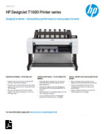 Download or view HP-DesignJet-T1600-Printer-series.pdf