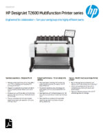 Download or view HP-DesignJet-T2600-Multifunction-Printer-series.pdf
